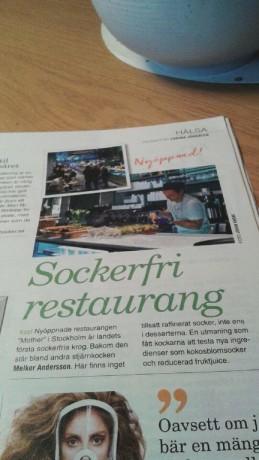 sockerfri restaurang stockholm